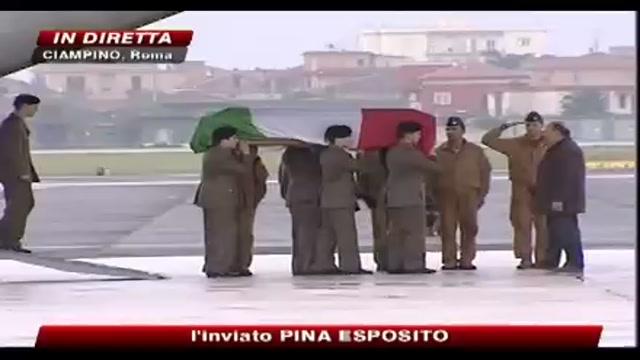 Oggi il rientro della salma dello 007 ucciso in Afghanistan