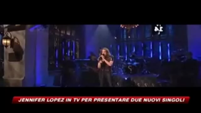 Jennifer Lopez in tv per presentare due nuovi singoli
