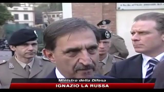 La Russa rende omaggio ad Antonio Colazzo