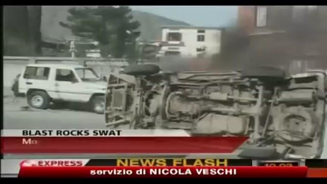 Pakistan, attentato nella valle dello Swat -13 morti