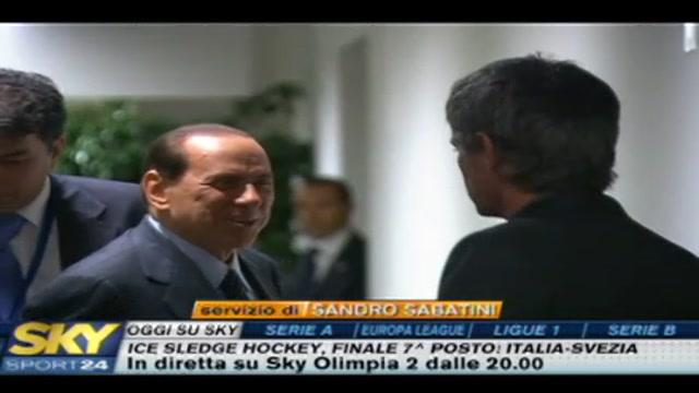 Berlusconi spera nello scudetto