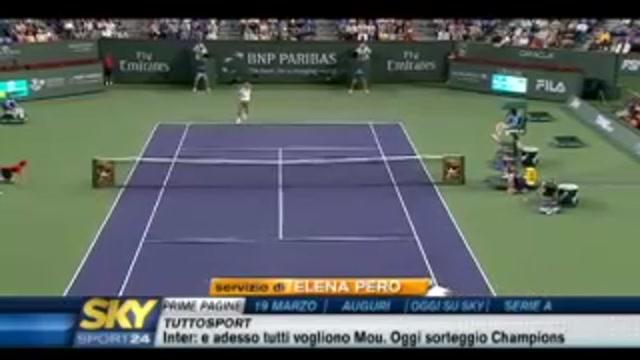 Tennis, a Indian Wells Nadal e Ljubicic sono i primi semifinalisti