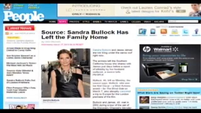 Bullock tradita con pornodiva, marito confessa ma lei se ne va