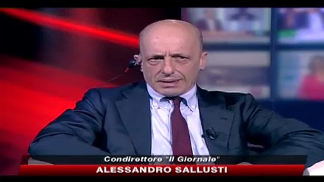 Sallusti: un confronto tra PD e PDL avvantagerebbe solo Bersani