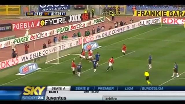 Roma-Inter, le pagelle dell'Inter, Mourinho 5