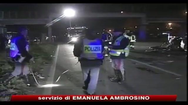 Incidente stradale a Taranto, tre morti e tre feriti