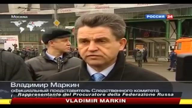 Attentato a Mosca, interviene Vladimir Markin