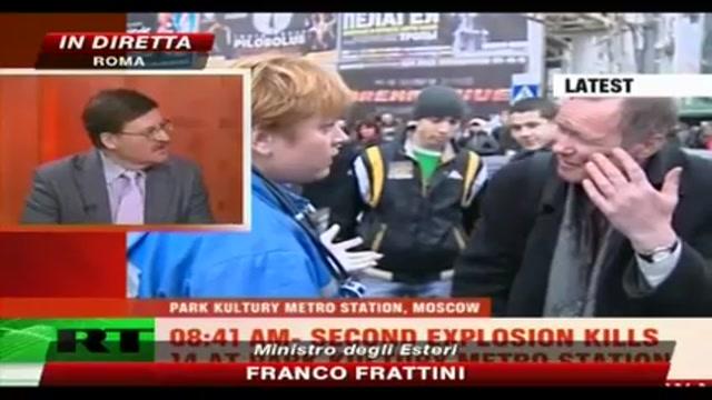 Attentato a Mosca, interviene Frattini