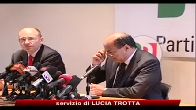 Bersani, governo indichi strada, pronti a riforme vere