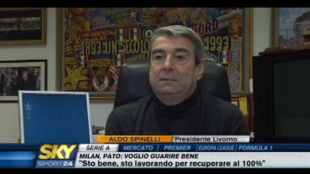 Spinelli choc: Il Livorno è in vendita
