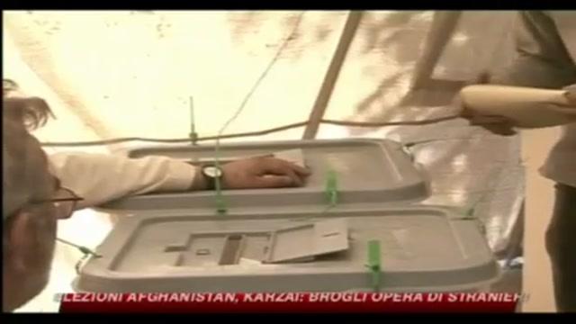 Elezioni Afghanistan, Karzai, brogli opera di stranieri