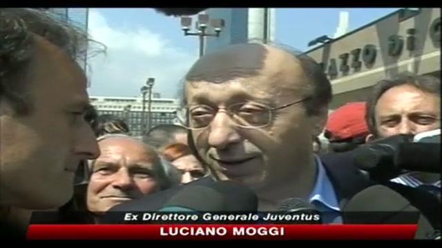 Calciopoli, intervento di Luciano Moggi