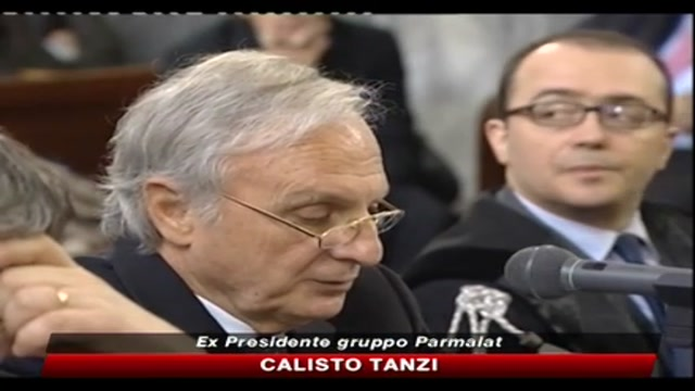 Crac Parmalat, Tanzi: chiedo perdono ai risparmiatori