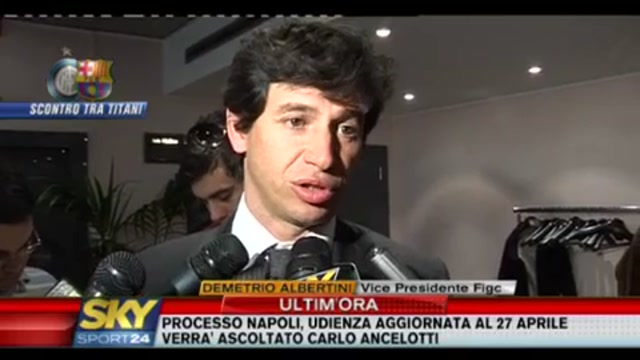 Demetrio Allbertini, pronostici su Inter-Barcelona