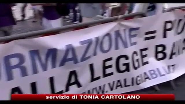 Legge bavaglio, oggi il no in piazza Navona a Roma
