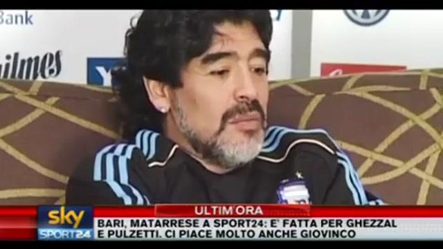 Maradona in vista della Germania