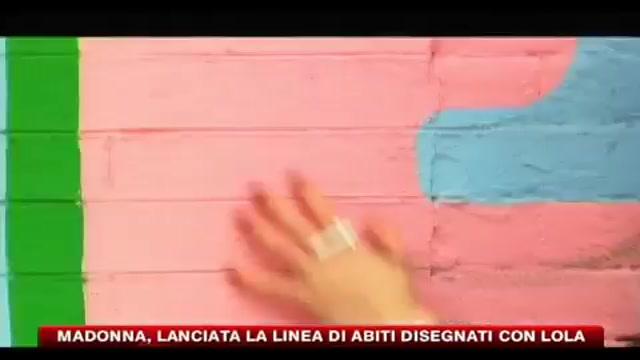 Madonna, lanciata la linea di abiti disegnati con Lola