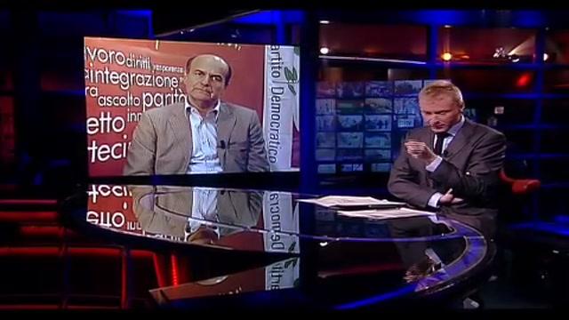 3 - Bersani a Sky TG24: Berlusconi mette le manette alla maggioranza