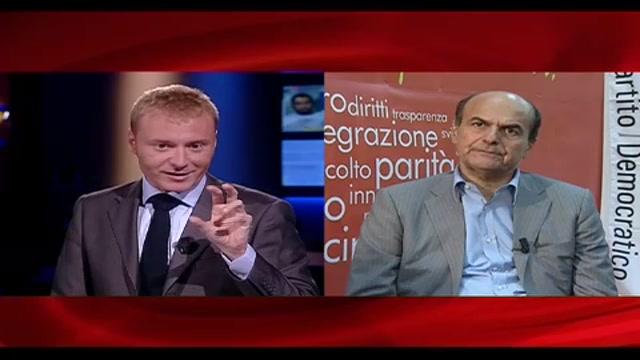 6 - Bersani a Sky TG24: governo non dà certezze