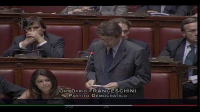 Cosentino, Franceschini: se si dimetterà sarà  vittoria  opposizioni