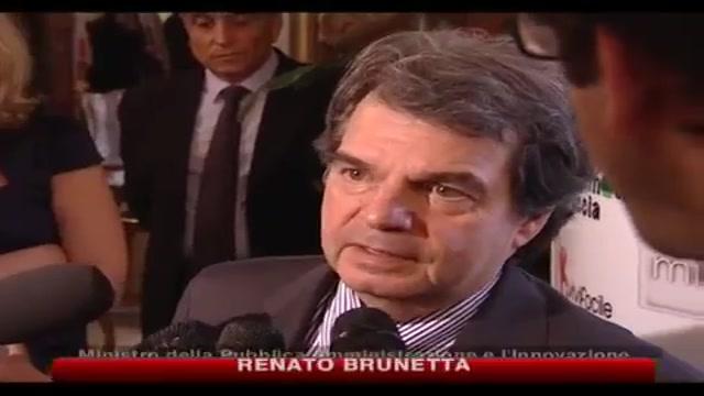 Brunetta, tagli alle auto blu