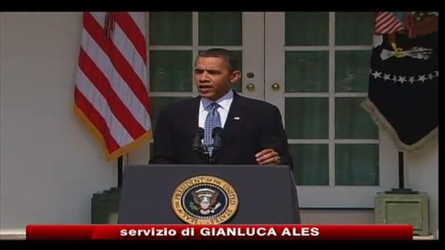 Marea nera, Obama: incoraggianti primi test su tasto BP