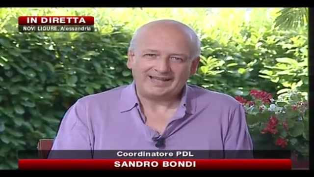 Sandro Bondi a SkyTG24
