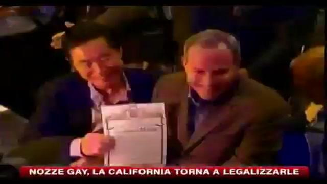 Nozze gay, la California torna a legalizzarle