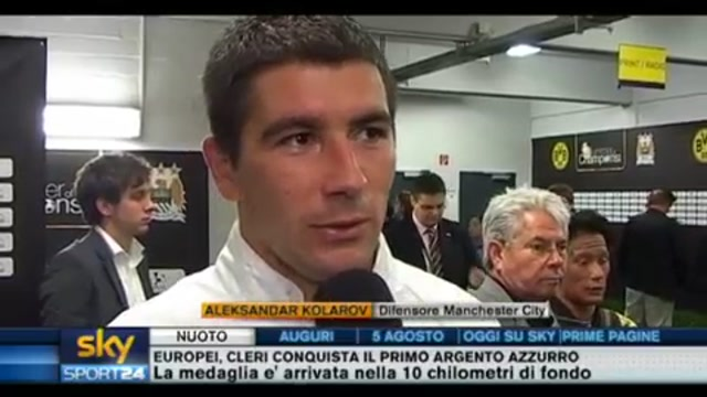 Balotelli, parla Kolarov difensore Manchester City