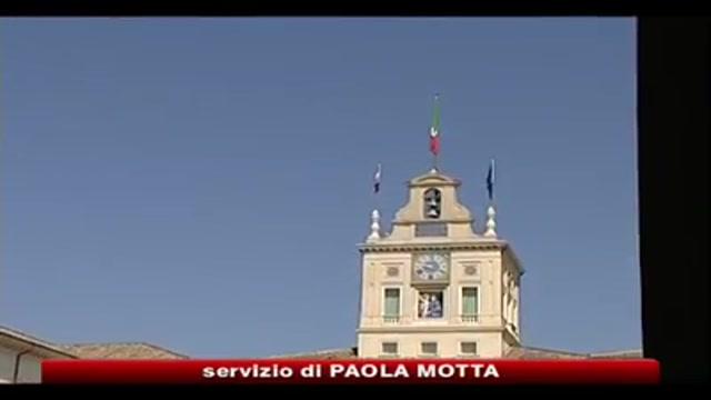 Napolitano, occorre consolidare ripresa economica