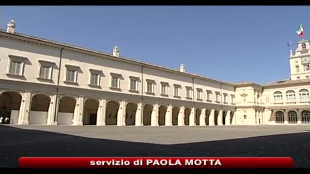Napolitano frena sul voto anticipato