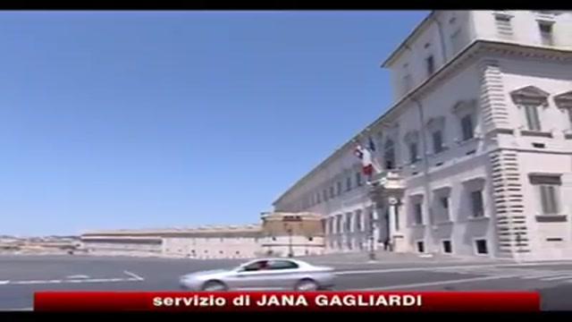 Governo, Napolitano avverte: basta pressioni indebite