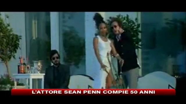 Sean Penn compie 50 anni