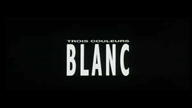 TRE COLORI - FILM BIANCO - IL TRAILER