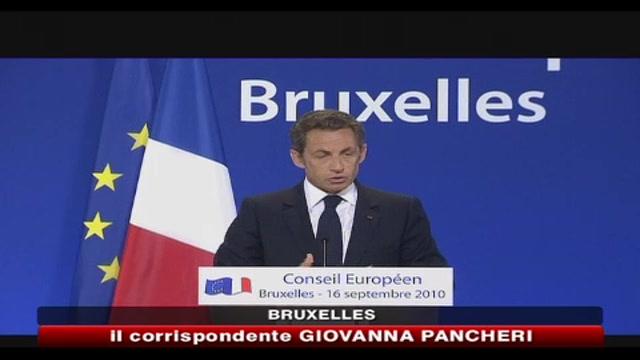 Espulsioni Rom, duro scontro tra Sarkozy e Barroso