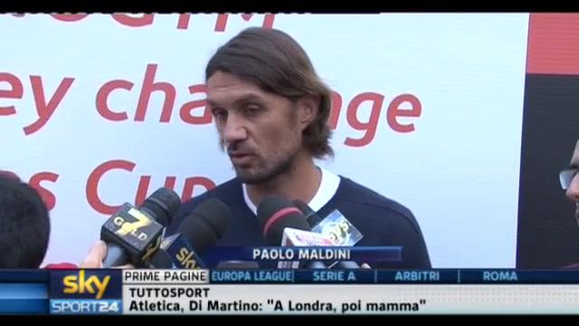 Campionato, Maldini: Inter favorita, ma anche il Milan può far bene