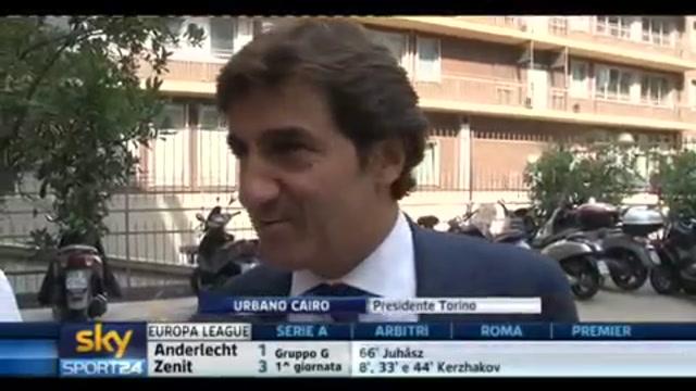 Torino, Cairo: Contro il Novara possiamo far bene