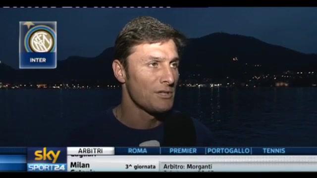 Inter, Zanetti: saremo ancora protagonisti