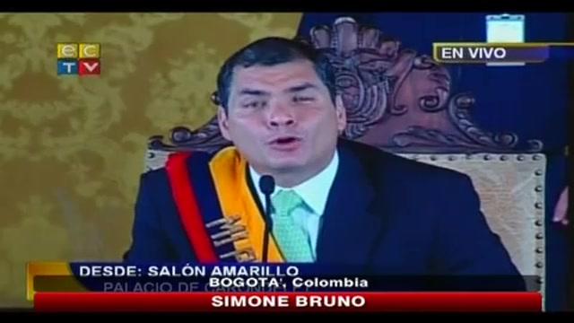 Sventato golp in Ecuador, libero il presidente Correa