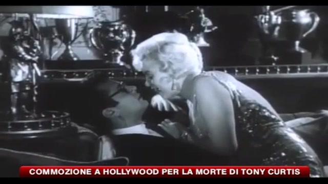 Commozione a Hollywood per la morte di Tony Curtis