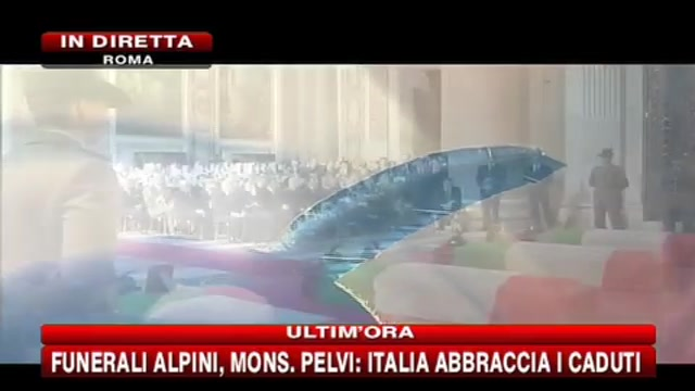 Funerali alpini, parla Monsignor Pelvi