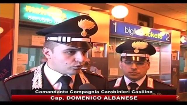 Lite alla stazione della metro, parlano i Carabinieri