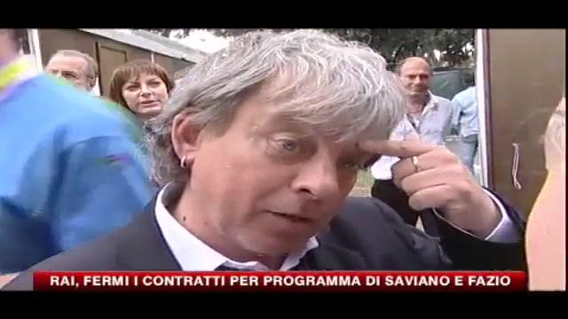 RAI, fermi i contratti per programma di Saviano e Fazio