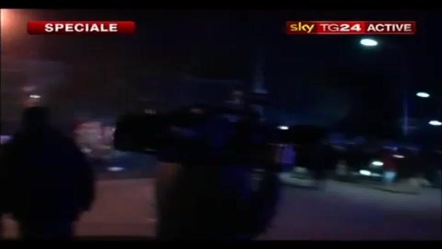 Il film di una notte di scontri a Terzigno