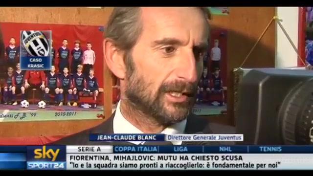 Caso Krasic, Blanc: giocatore pulito