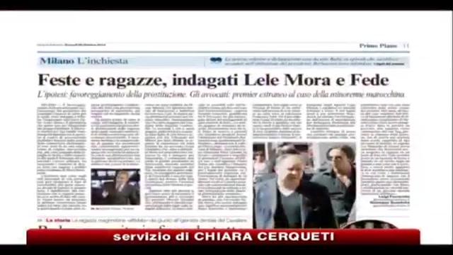 Caso Ruby, Berlusconi: un caso montato sul nulla