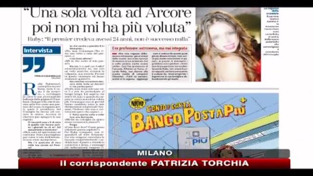 Ruby: Berlusconi credeva che fossi maggiorenne