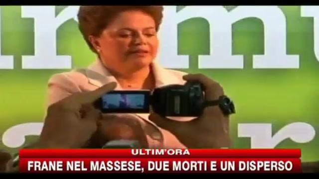 Brasile, vittoria della Rousseff