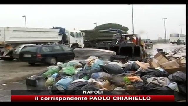 Disastro rifiuti, l'esercito in campo con mezzi dell'ONU