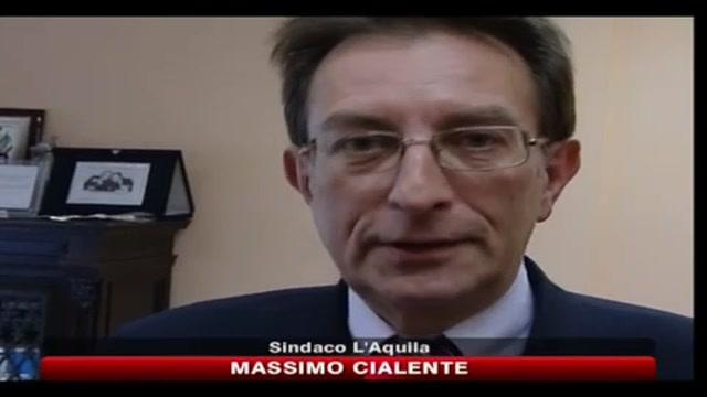 L'Aquila, sindaco Cialente: ancora un Natale triste